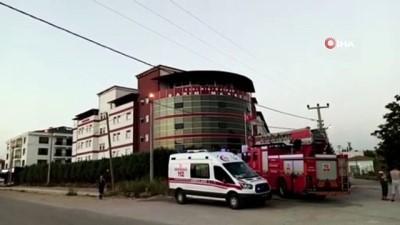 yangin panigi -  Rehabilitasyon merkezinde yangın paniği; hastalar tahliye edildi