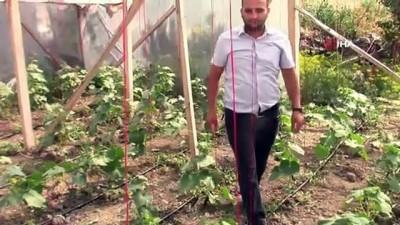 yumurta -  Amasya'da dolu felaketinde seralar ve çatılar delik deşik oldu Videosu