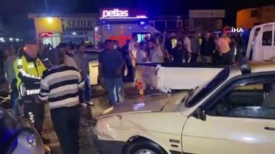 trafik polisi -  Düzce'de zincirleme trafik kazası: 6'sı çocuk 15 yaralı