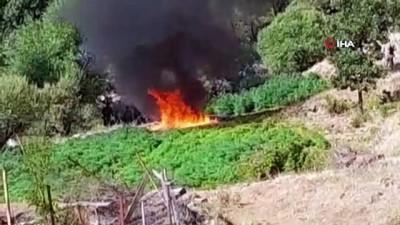 uyusturucu ticareti -  Jandarmadan, terör örgütü PKK'nın finans kaynağına büyük operasyon