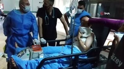 mermi -  Karga kovalamak isterken ses fişeği ile kazara kendini vuran kız ağır yaralandı