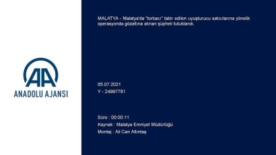 metamfetamin - MALATYA - Uyuşturucu operasyonunda yakalanan zanlı tutuklandı