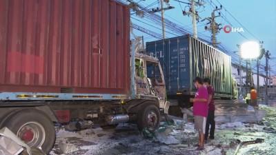 kimya -  - Tayland'da kimya fabrikası patlamasında 1 ölü - Patlamadaki yaralı sayısı 27'ye yükseldi