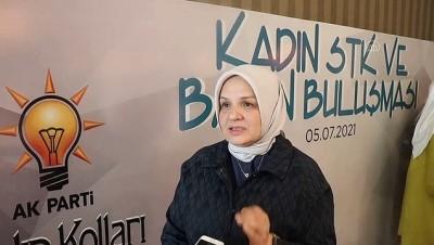 VAN - AK Parti'li Ayşe Keşir, kadına yönelik şiddetle mücadele çalışmalarını değerlendirdi