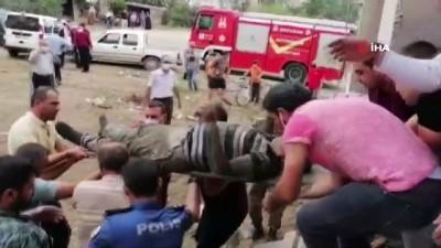 askeri personel -  Cami inşaatında göçük: 3 yaralı Videosu