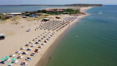 musilaj - ÇANAKKALE - Müsilaj Türkiye'nin en büyük adası Gökçeada'nın kıyılarında büyük ölçüde etkisini yitirdi