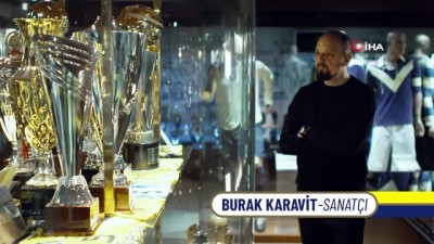 Fenerbahçe'nin tarihi, 'Vakt-i Fener' tablosunda buluştu