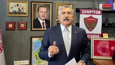 buyuksehir belediyesi - HATAY - AK Parti Hatay Milletvekili Hüseyin Yayman'dan kentte yaşanan su sorunu ile ilgili açıklama