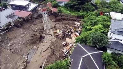 toprak kaymasi -  - Japonya'daki sel ve heyelan felaketinde can kaybı 7'ye yükseldi - Kayıp sayısı ise 33'e ulaştı Videosu