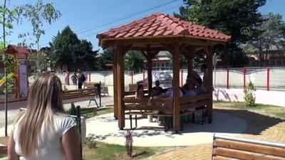 cocuk parki - RADOVİŞ - TİKA tarafından inşa edilen Türkiye-Kuzey Makedonya Dostluk Parkı'nın açılışı gerçekleştirildi