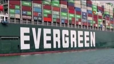 kurtarma operasyonu -  - Süveyş Kanalını tıkayan Ever Given gemisi, 3 ayın ardından kanaldan ayrılıyor