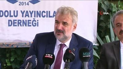 """muhalefet -  AK Parti İstanbul İl Başkanı Kabaktepe, AYD tarafından düzenlenen """"Anadolu Sohbetleri""""ne katıldı"""