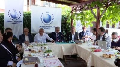buyuksehir belediyesi - ANKARA - AK Parti İstanbul İl Başkanı Kabaktepe, 'Anadolu Sohbetleri'nde konuştu