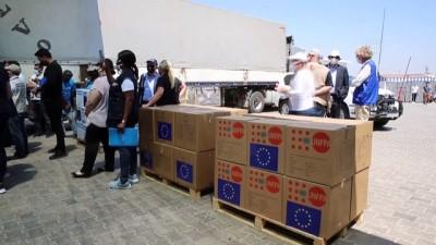 HATAY - BM tarafından yılbaşından bu yana İdlib'e 138 bin 800 ton gıda yardımı yapıldı