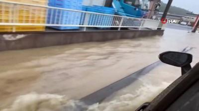 sel baskinlari -  - Japonya'da felaket üstüne felaket - Şiddetli yağış bu kez Hiroshima'yı vurdu, sel baskınları yaşandı Videosu