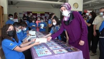cesar -  Öğrenciler, pandemide yaşadıklarını kitap haline getirdi