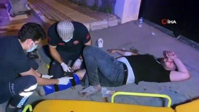 metamfetamin -  Otomobilden açılan ateşle yaralandı, yanındaki çöp kutusunda uyuşturucu bulundu