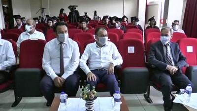 egitim merkezi -  Türkiye'de ilk kez hem lise hem ustalık diploma töreni gerçekleştirildi