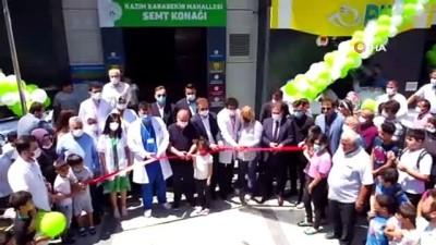 osmanpasa -  Gaziosmanpaşa'da birçok hizmeti içerisinde bulunduran semt konağı açıldı