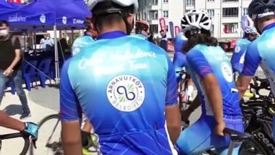 bisiklet turu -  Pedallar 5'inci kez şehit Ömer Halisdemir için çevrildi