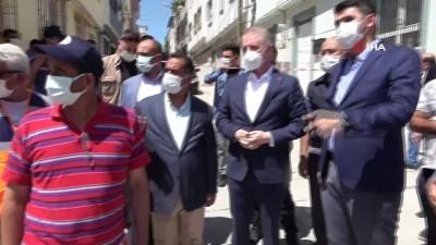 cokme -  5 katlı bina kaçak kat çıkılması nedeniyle çökmüş Videosu