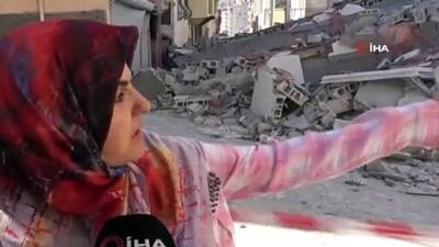 cokme -  Gaziantep'te yeni yapılan 5 katlı bina çöktü, facianın eşiğinden dönüldü Videosu