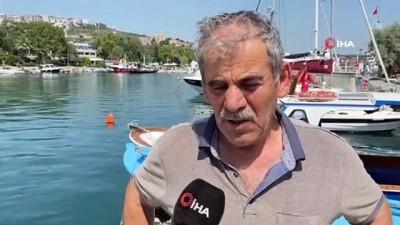 musilaj -  Gebze'de balıkçılar deniz altındaki müsilajdan şikayetçi