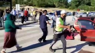 motosiklet surucusu -  Karabük'te 5 ayrı trafik kazası : 3'ü çocuk 9 yaralı Videosu
