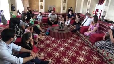 Anadolu Masal Evi'nde özel gereksinimli öğrenciler ağırlandı