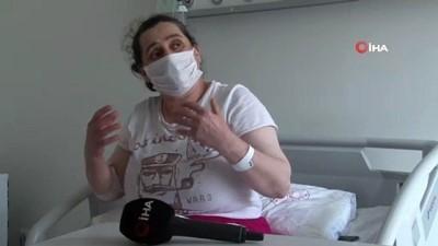 """yan etki -  Aşı olmayı erteleyen Covid-19 hastası hastane odasından seslendi: """"Sağlığımız için herkese aşı olun derim"""""""