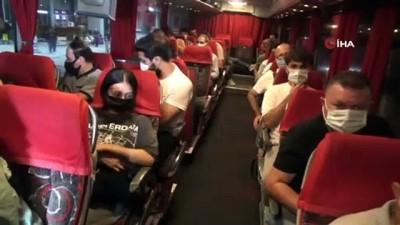 sehirlerarasi otobus -  Facianın ardından polis ekiplerinden otobüslere şok denetim