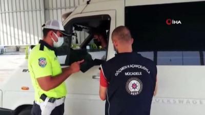 gocmen kacakciligi -  Kaçak göçmenlerin umuda yolcuğu Osmaniye'de son buldu