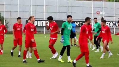 dolar - Sivasspor'da, Dinamo Batumi maçı hazırlıkları sürüyor