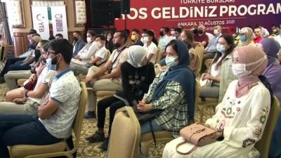 YTB, 'Türkiye Bursları Hoş Geldiniz' Programı düzenledi