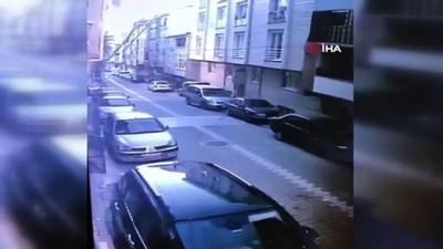 kacis -  Esenyurt'ta aynı eve 2. kez girmeye çalışan hırsız yakalanınca balkondan böyle atladı