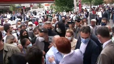 İYİ Parti Genel Başkanı Akşener, Erzincan'da esnaf ziyareti yaptı