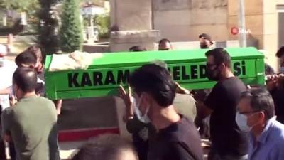 nayet zanlisi -  Karaman'da damadı tarafından öldürülen kayınvalide toprağa verildi