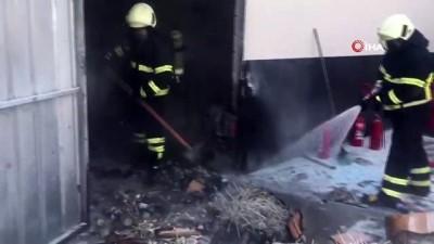 kimya -  Kırıkkale'de malzeme deposunda yangın