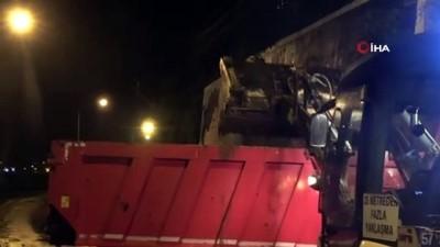 cokme -  Sinop'ta istinat duvarı çöktü: 1 araç zarar gördü