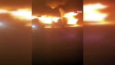misyon -  Mut Sebze hali alev alev yandı Videosu