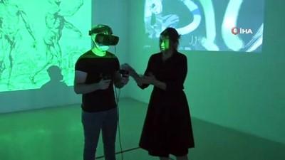 iletisim -  Sanatseverler sanal gözlüklerle kendi dünyalarını tasarlayabiliyor Videosu