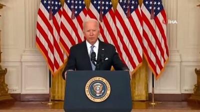 misyon -  - ABD Başkanı Joe Biden: 'Afganistan'dan çekilme kararımızın arkasındayım' Videosu