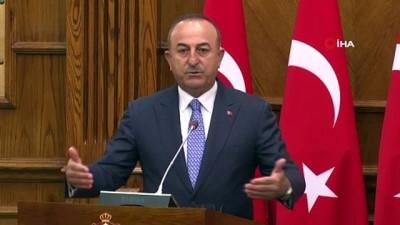 -  Bakan Çavuşoğlu: 'Taliban'ın verdiği mesajları da olumlu karşıladığımızı söylemek isteriz'