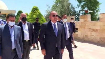 kahramanlik -  - Bakan Çavuşoğlu, Ürdün'de Salt Türk Şehitliği'ni ziyaret etti Videosu