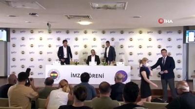 hatira fotografi - Fenerbahçe, Getir ile sponsorluk anlaşması imzaladı