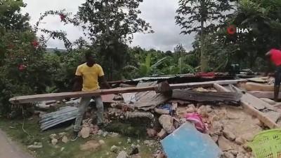 2010 yili -  - Haiti'deki depremde can kaybı bin 419'a yükseldi