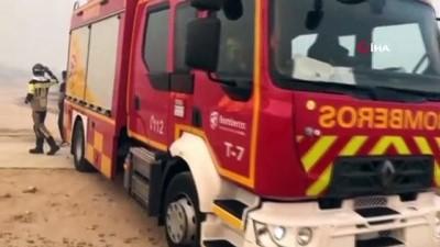 kuraklik -  - İspanya'da yılın en büyük yangını: 12 bin hektarlık ormanlık alan küle döndü Videosu
