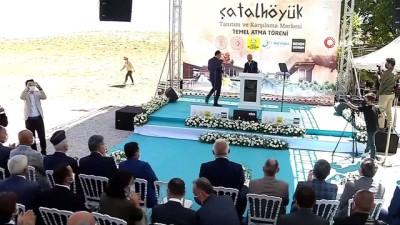 """arkeoloji -  Kültür ve Turizm Bakanı Mehmet Nuri Ersoy: - """"Çatalhöyük, ülkemizin ve insanlığın en önemli arkeolojik değerlerindendir'"""