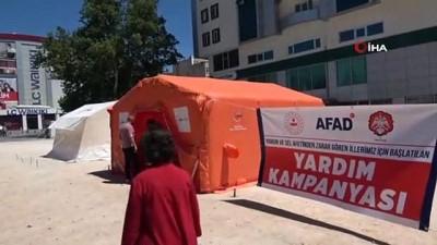 afet bolgesi -  Satmak için aldığı ayakkabıları sel bölgelerine bağışladı Videosu