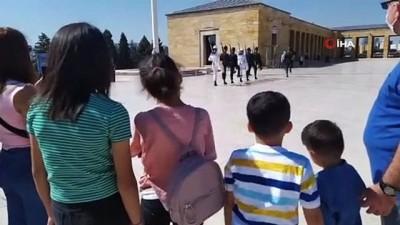 isaf -  Şırnaklı Minikler Ankara ve İstanbul'u gezdi